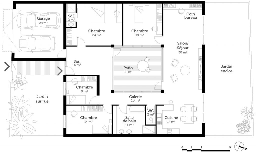 Plan Maison Moderne 100m2 De En V Gratuit 14 View Gallery With