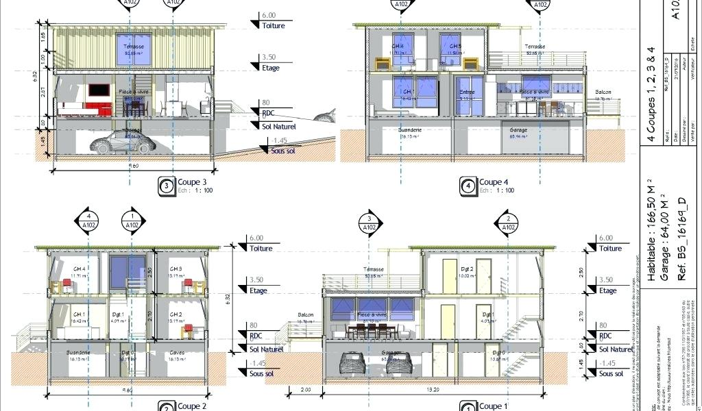Plan Maison Moderne 5 Chambres