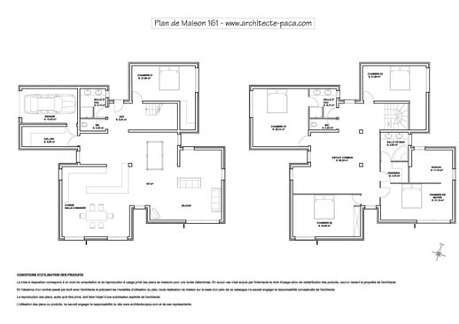 Plan Maison Moderne Contemporaine Design Apsip Com