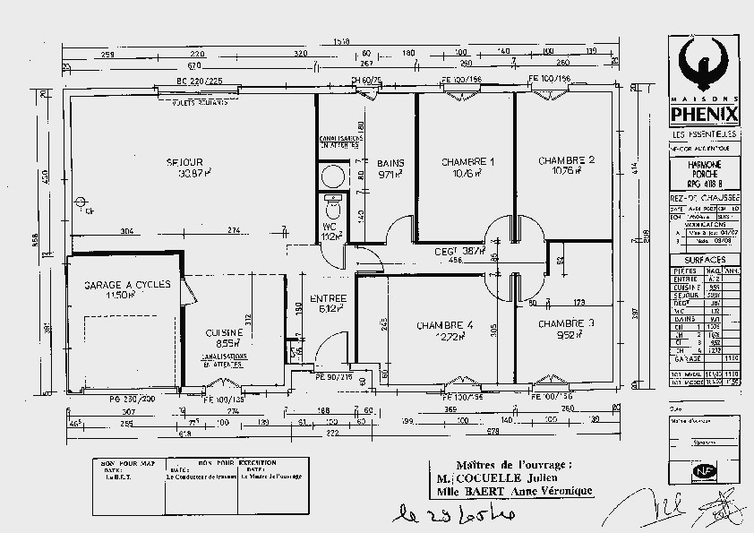 Plan Maison Plain Pied 80m2 Belle De Traditionnelle Eros