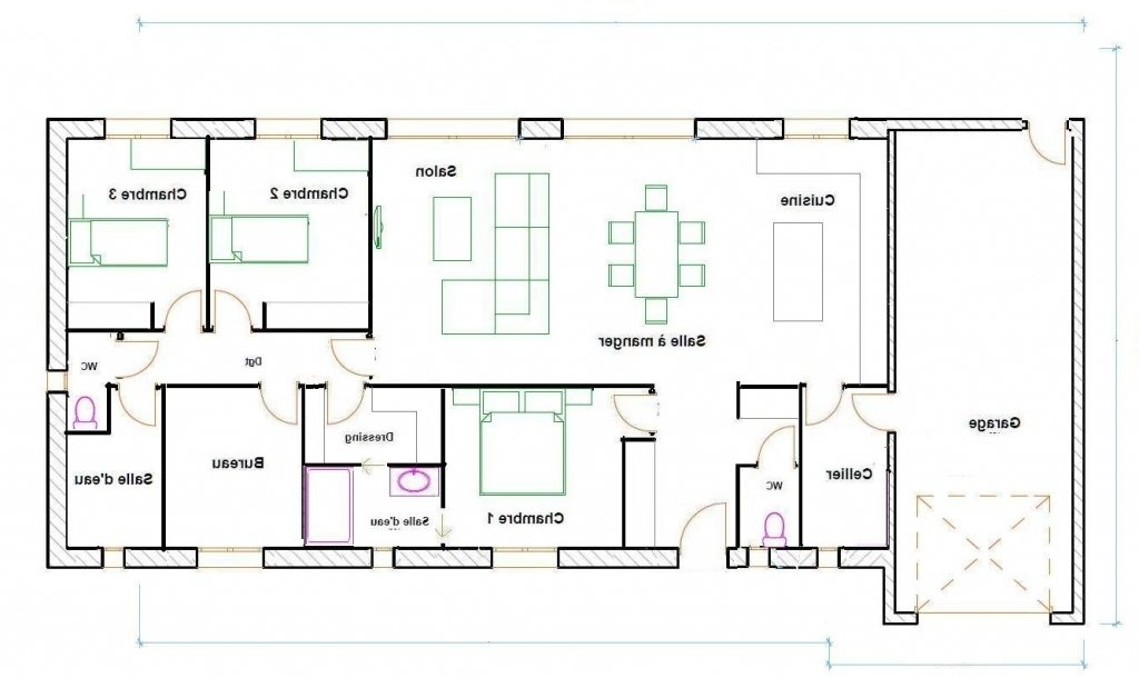 Plan Maison Plein Pied 120m2 Doped Co