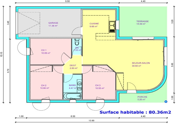Plan Maison Simple 3 Chambres 10 Index Of Images Plans Systembase Co