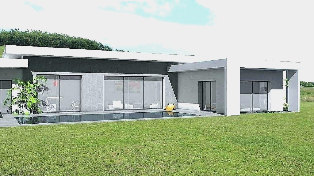 Plan Maison T4 Plain Pied CONSTRUCTION 86 FR Contemporaine De Type