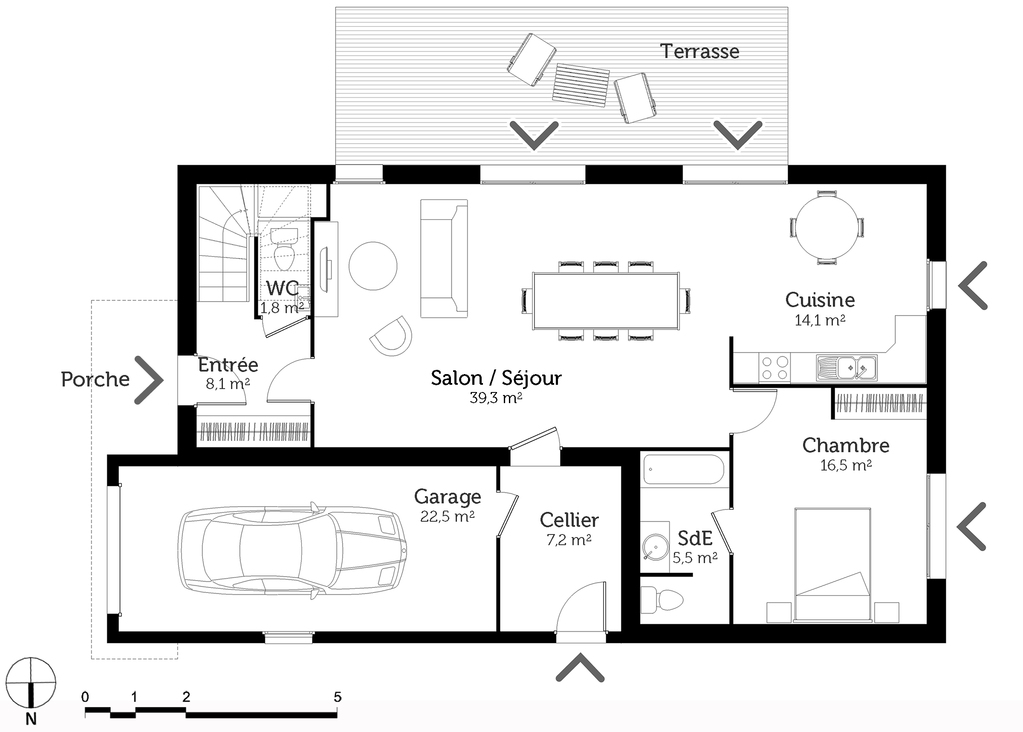Plan Maison Tage 6 Chambres