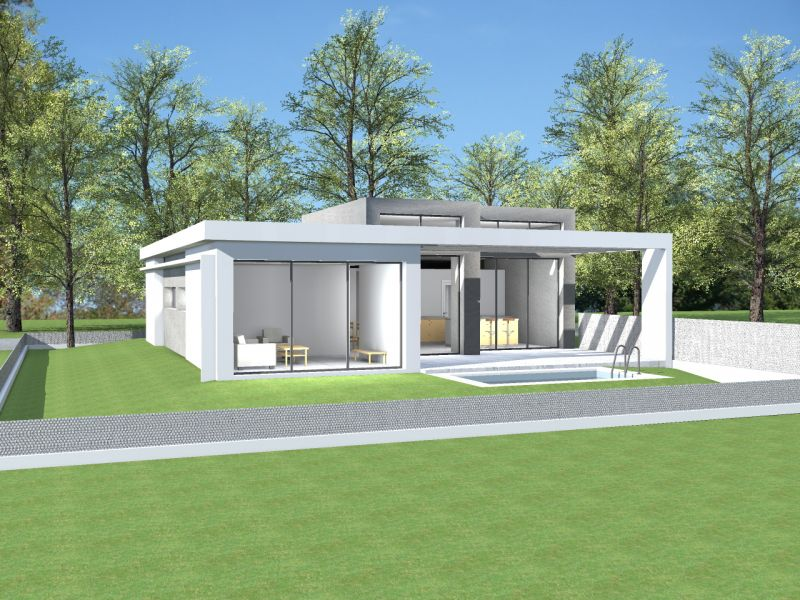 Plan Maison Toit Plat 120m2 Latest Delightful