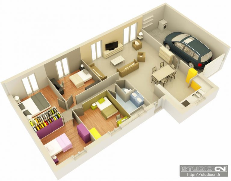 Plans De Maison 3d Faire Plan Rraf Info