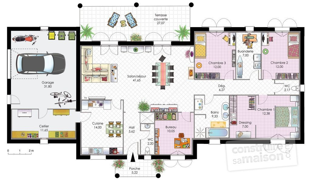 Plans De Maisons Contemporaines Maison Contemporaine 1 Pinterest
