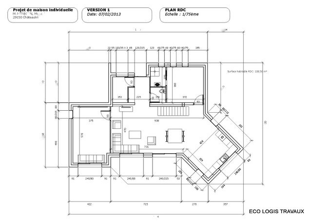Plans De Maisons Modernes Id Es D Coration Int