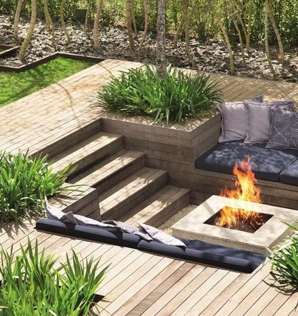 Pozo De Fuego Para Jardin Latest Backyard Creations Sedona Fire Pit