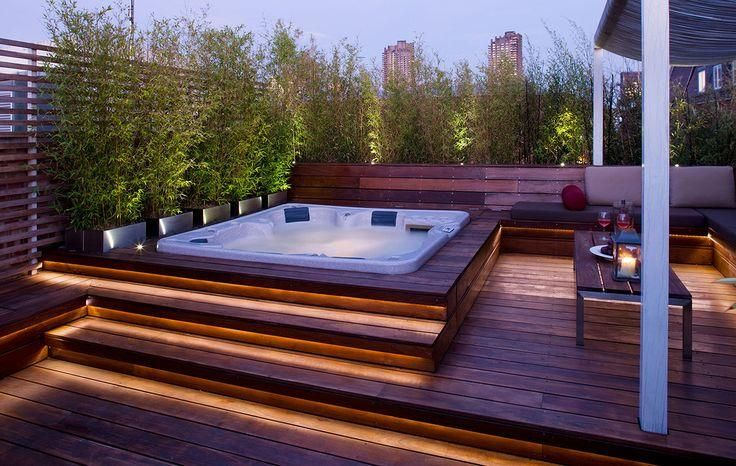 Private Outdoor Jacuzzi Putting It All TOGETHER Pinterest