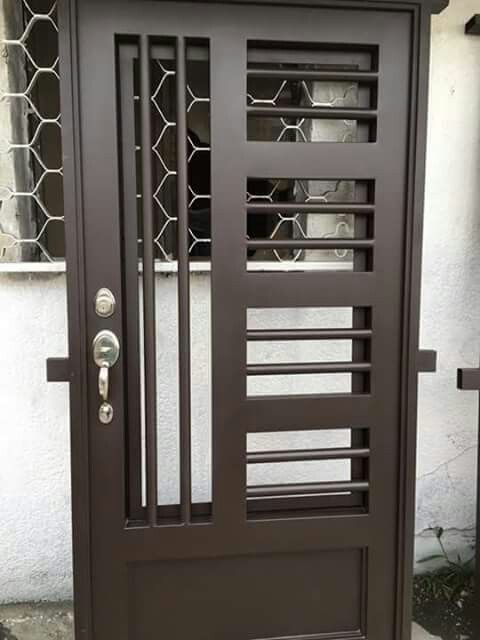 Puerta Puee Metal En 2018 Pinterest Doors Door Design Y Gate