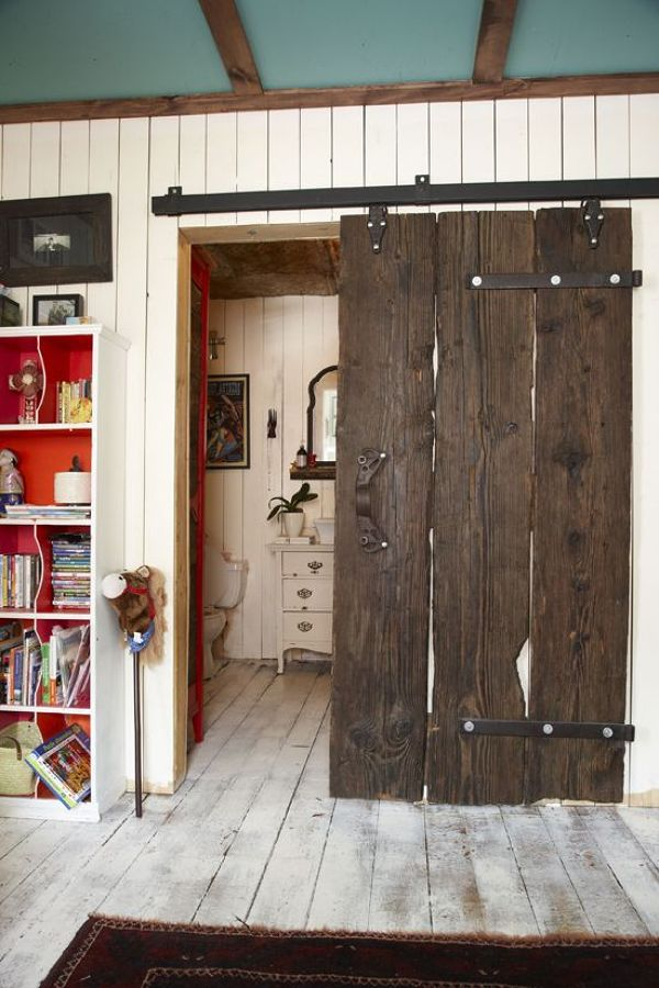 Puertas Estilo Industrial Interesting Librera Con