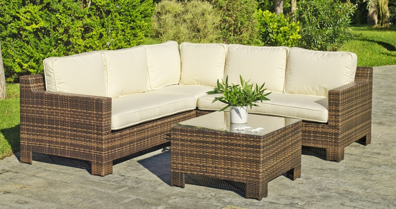 Muebles Rattan De Sintetico Para Jardin Sobre Incredible