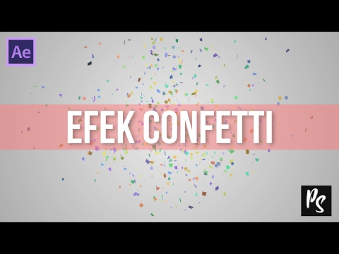 Quick Tutorial After Effect Membuat Efek Ledakan Confetti