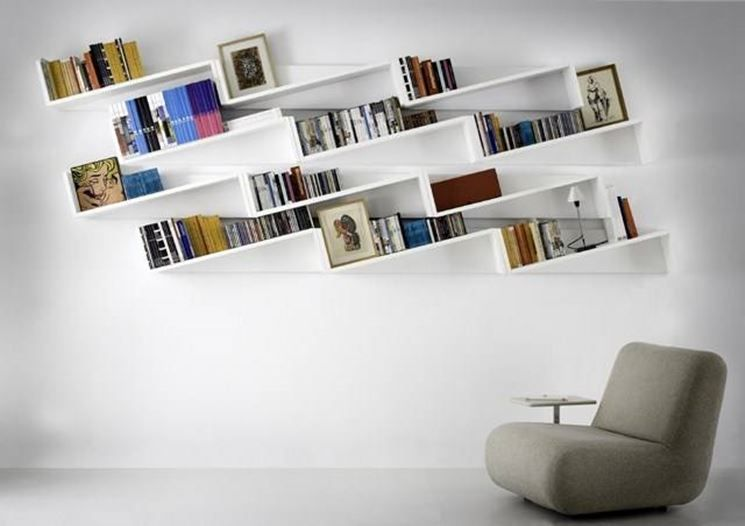 Serie Di Mensole In Cartongesso Shelves Pinterest