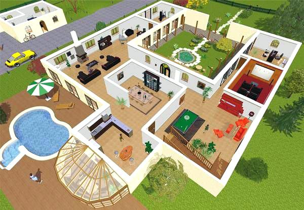 Simulation Maison 3d Gratuit Awesome Conception With
