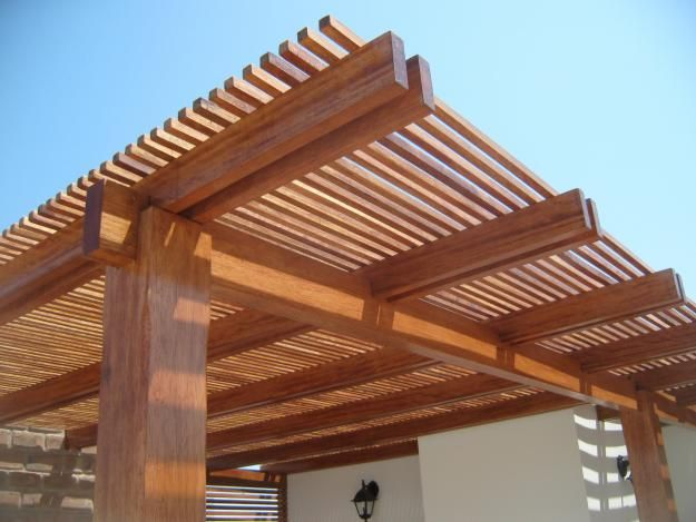 Something Like This Over The Stair Side Of Our Deck Estructuras