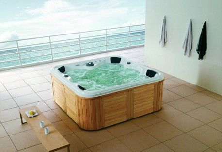 Spa Jacuzzi Exterior As 001 BA O Pinterest Terrazas Y Ba