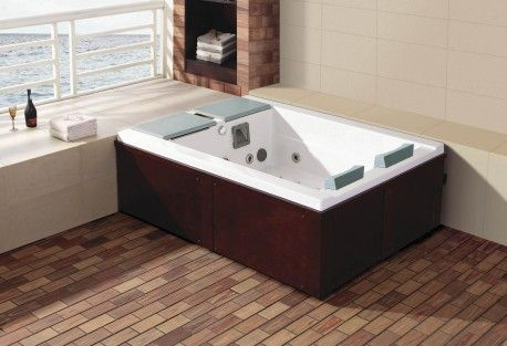 Spa Jacuzzi Exterior As 0031A Mini Piscina Pinterest