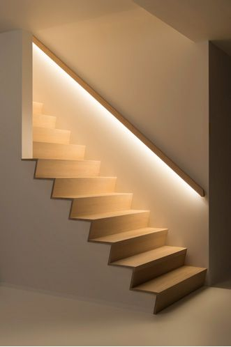 Stair Lighting Decoraci N Casa Pinterest Escalera Iluminaci