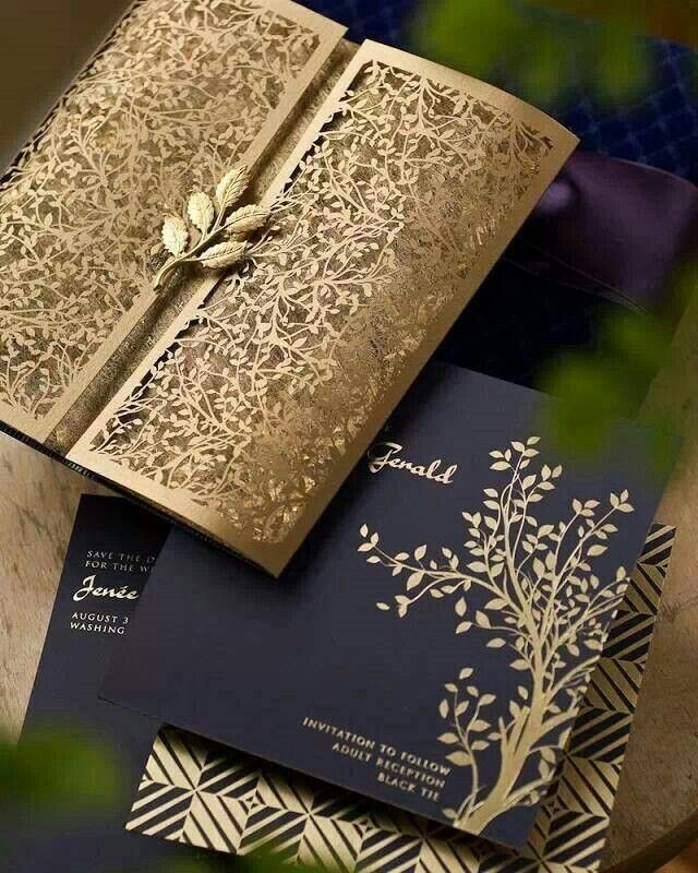 Super Unique Laser Cut Wedding Invitations Design Pinterest