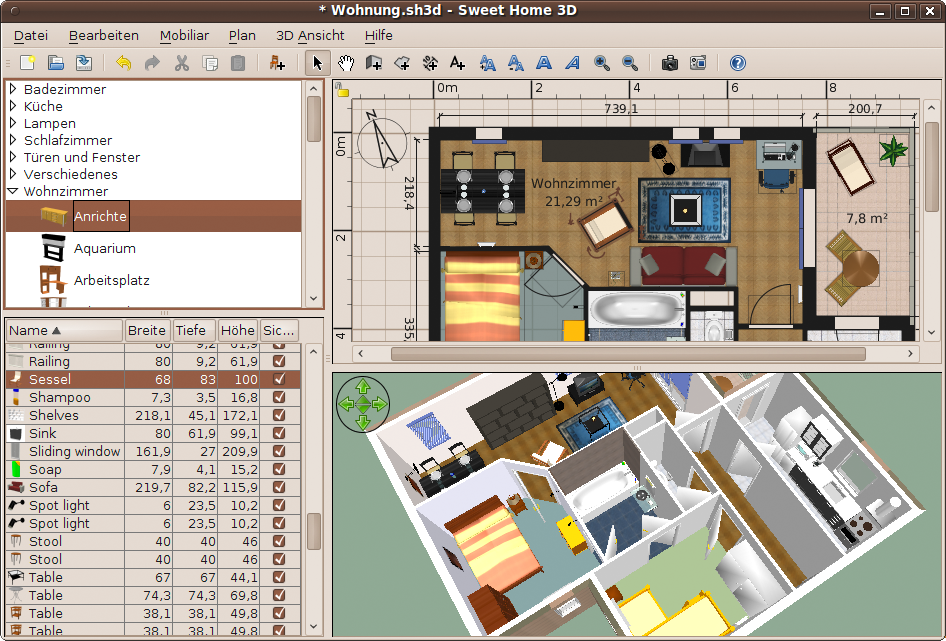 Sweet Home 3D Free Designing Software That Lets You Measure