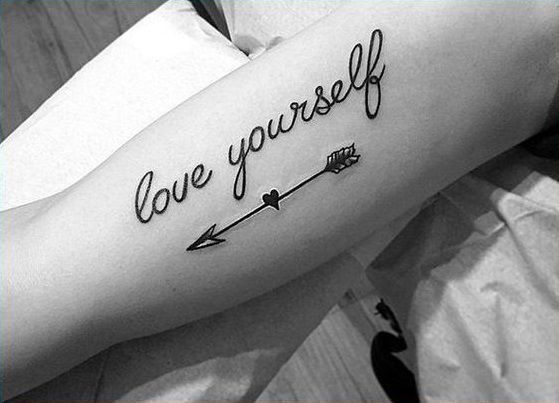 Tatuajes En El Braso Letra Cursiva Arm Tattoo Tatoo Pinterest