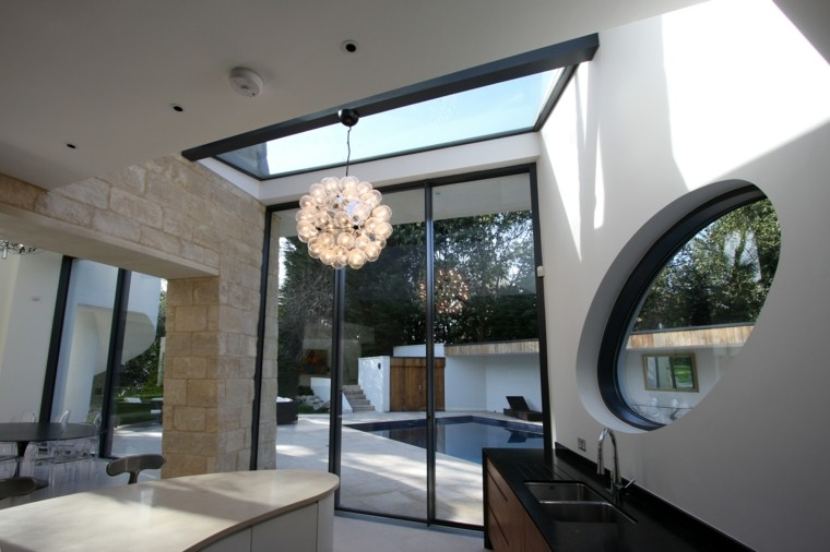 Techos De Cristal Para Casas Interiores Luminosos Casa Techo
