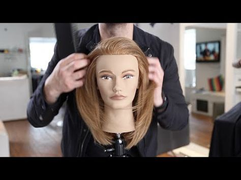 The Best Layered Haircut Tutorial TheSalonGuy YouTube