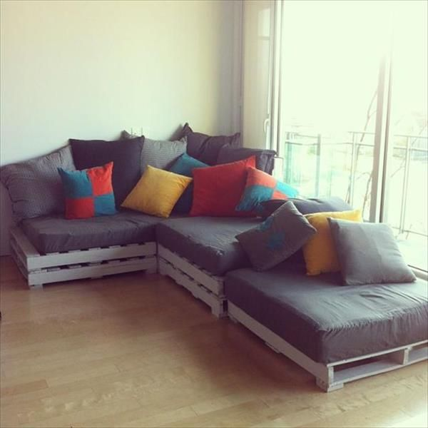 Top 20 Pallet Couch Ideas DIY Sofa