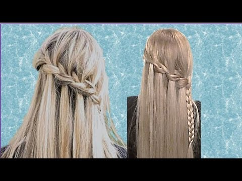 TRENZA CASCADA DE MODA Tutorial Paso A YouTube