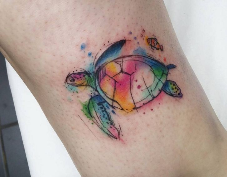 Turtle Tattoo This Is What Tash And I Should Get More Animal Tattoos