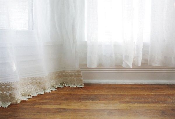 Tutorial No Sew Method For Lengthening Curtains DYI Pinterest