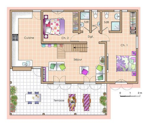 Une Maison L Architecture Antillaise Plans Pinterest