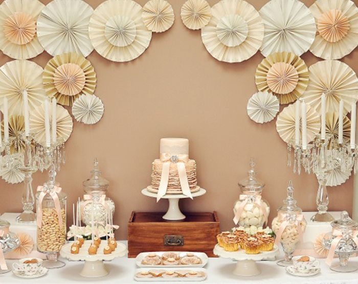 Vintage Wedding Guest Dessert Feature Entertaining And Events
