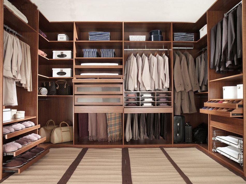 Walk In Closet For Men Masculine Design 1