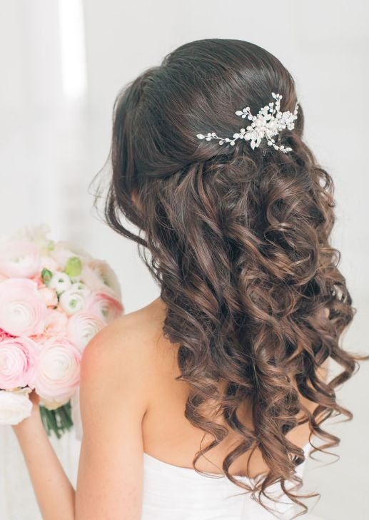 Wedding Hairstyle Idea Featured Elstile More