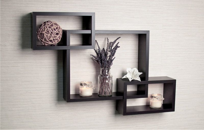 Well Designed Shelf With Easy Install For Home Interior Design Ideas