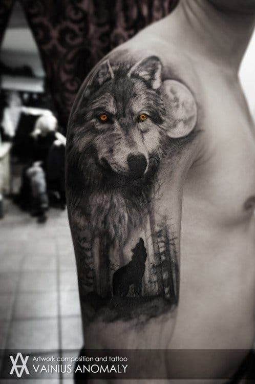 Wolf Down Some Cola And Check Out These Howlin Tattoos