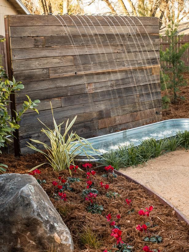 Yard Crashers Water Feature Wonderland Features Pinterest