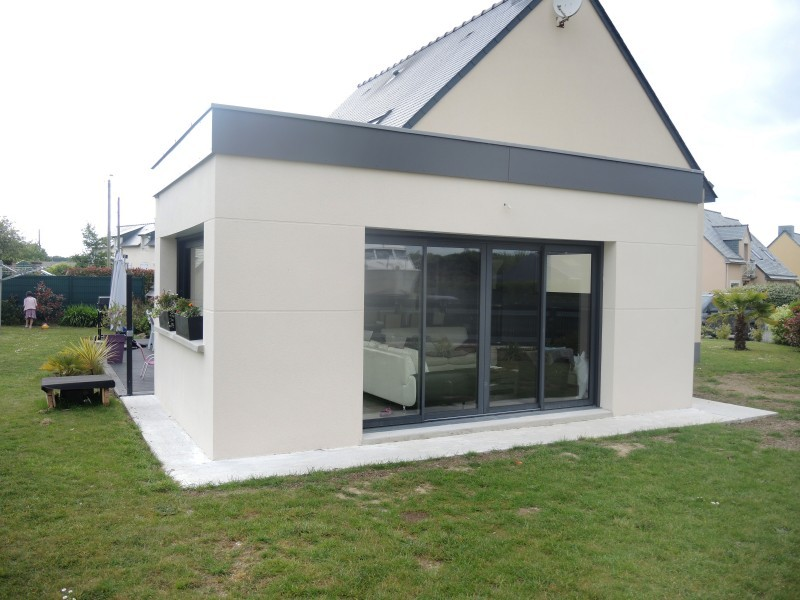 Extension Maison Container Good Surlvation Toit With Politify Us