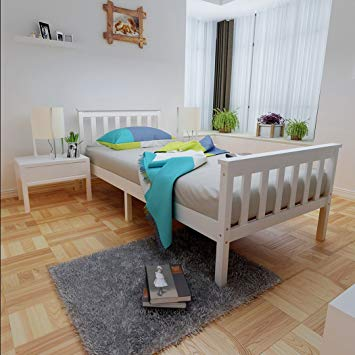 Anaelle Pandamoto Lit Simple Adult En Bois 1 Place Design Comfort