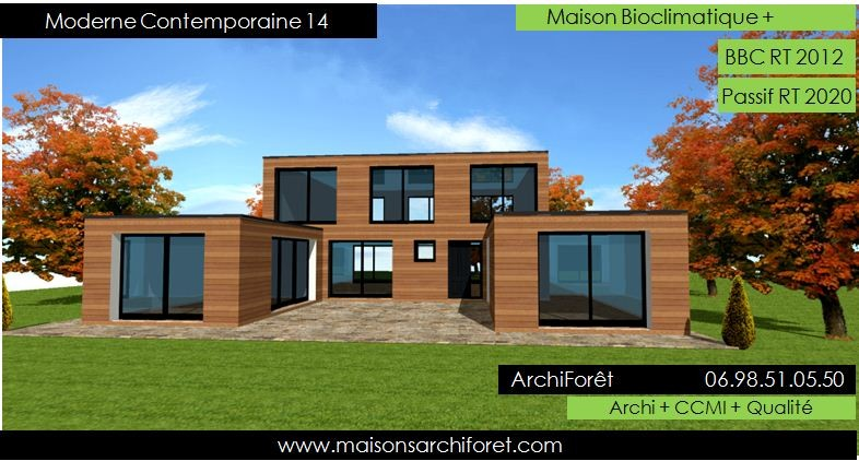 Architecture Contemporaine Maison Individuelle Architecte