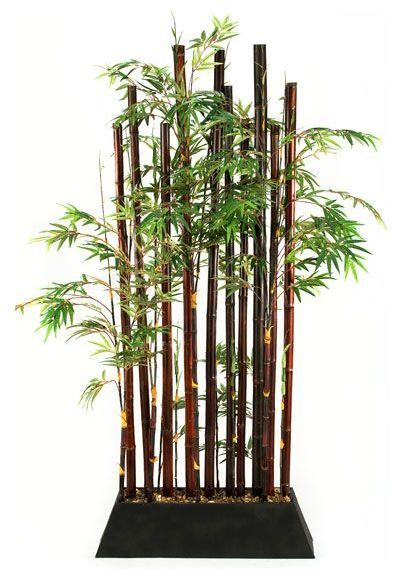 Bamboo Plant Divider By CORT Great As A Room In Small