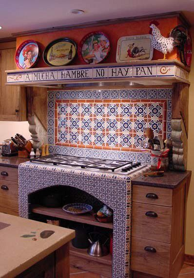 Mexicantiles Com Mexican Talavera Tile In Kitchen Island Politify Us