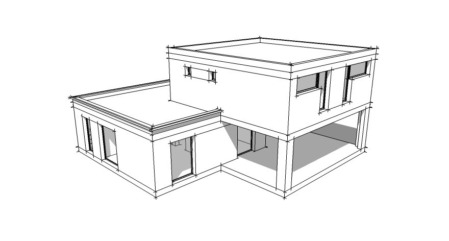 Comment Dessiner Une Maison En 3d Doped Co