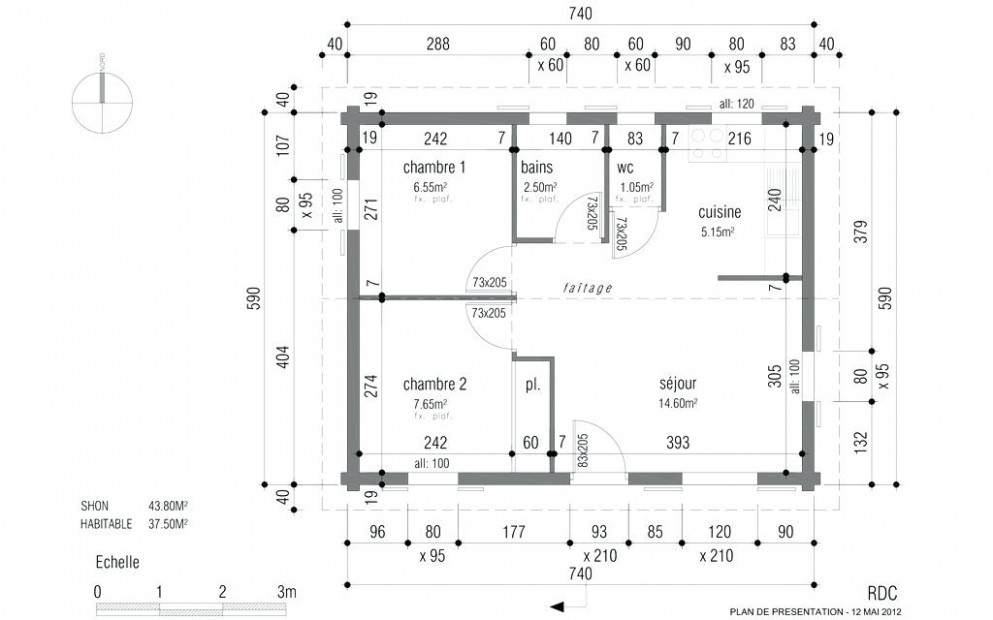 Conception De Plan Maison Gratuit A Telecharger 48m48 Duplex Pdf