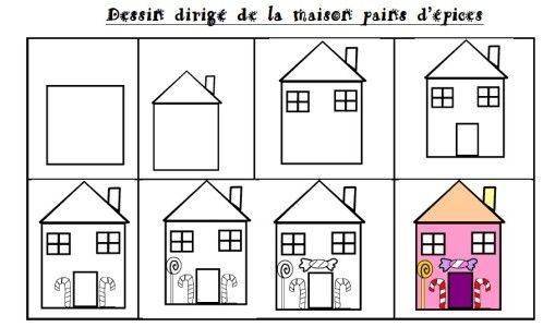 Dessine Moi Une Maison Easy Drawings Art Lessons And Montessori