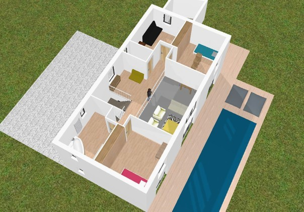 Dessiner Maison 3d Gratuit Plan De Review 3D Vectorsecurity Me