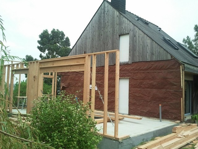 Extension Maison 20m2 Gallery Of En Bois Avec Tage With Cout